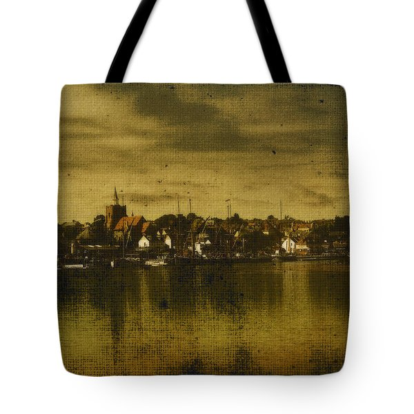 Tote Bag featuring the digital art Vintage Maldon  by Fine Art By Andrew David