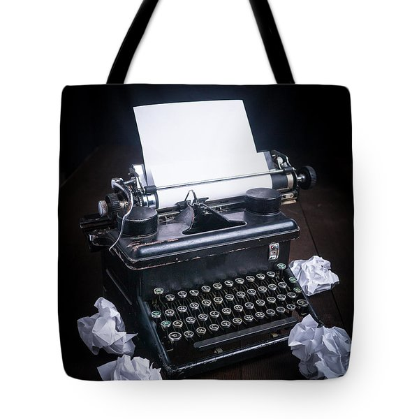 Vintage Manual Typewriter Tote Bag by Edward Fielding