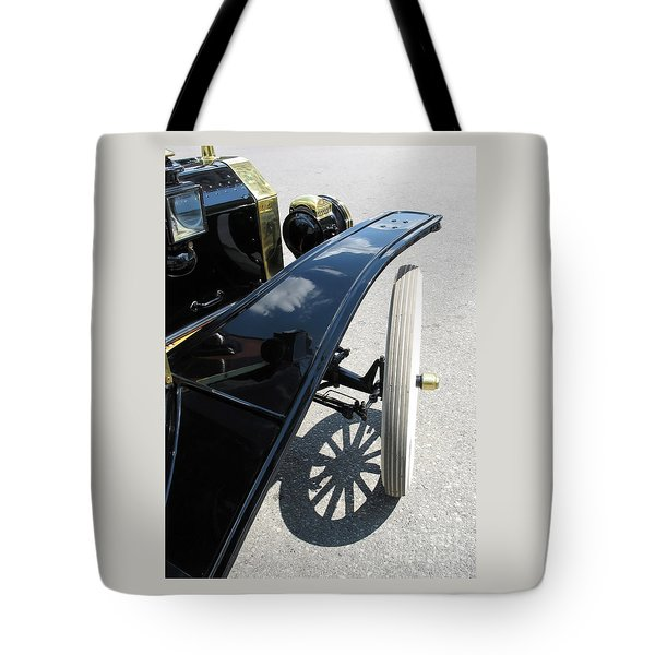 Tote Bag featuring the photograph Vintage Model T by Ann Horn