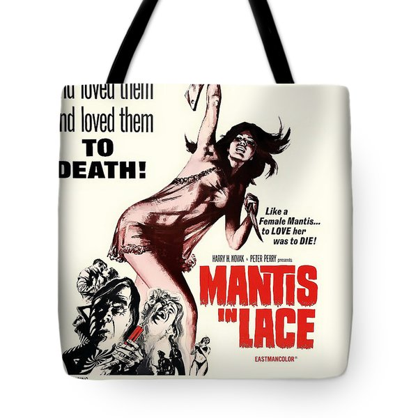 Vintage Movie Poster 1968 Tote Bag
