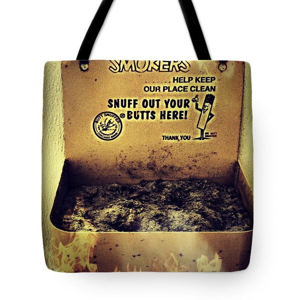 Vintage Mr. Butt Snuffer Ashtray Tote Bag