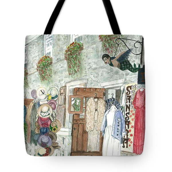 Vintage New Hope Tote Bag by Vickie G Buccini