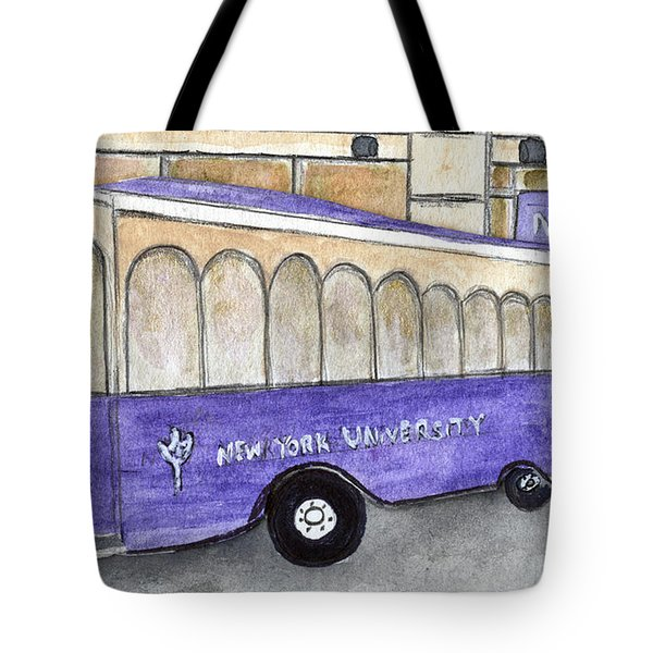 Vintage Nyu Trolley Tote Bag