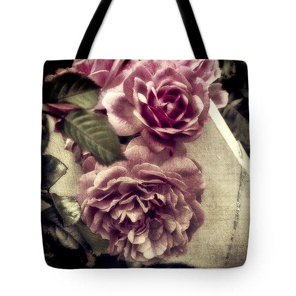 Vintage Pink Sisters Tote Bag