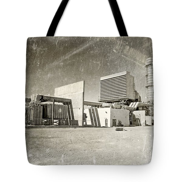 Vintage Power Tote Bag by Paul Fell