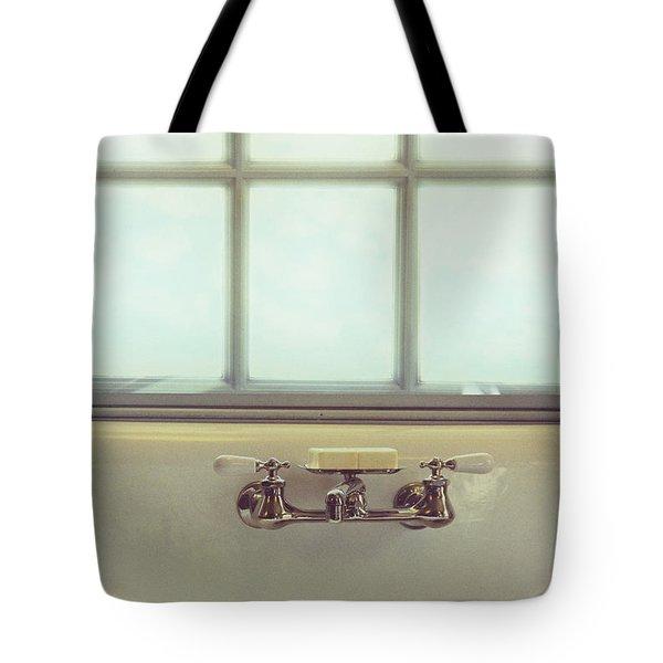 Vintage Soap Tote Bag by Margie Hurwich