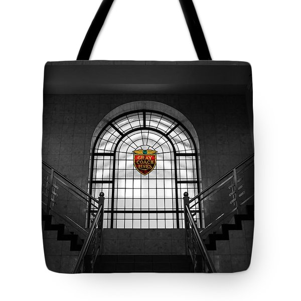 Vintage Stained Glass 2 Tote Bag by Andrew Fare