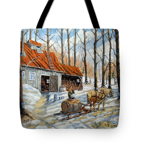 Vintage Sugar Shack By Prankearts Tote Bag