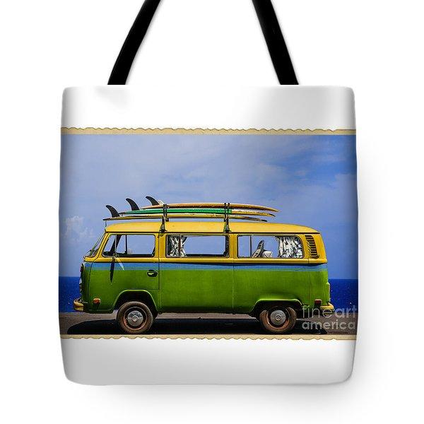 Vintage Surf Van Tote Bag