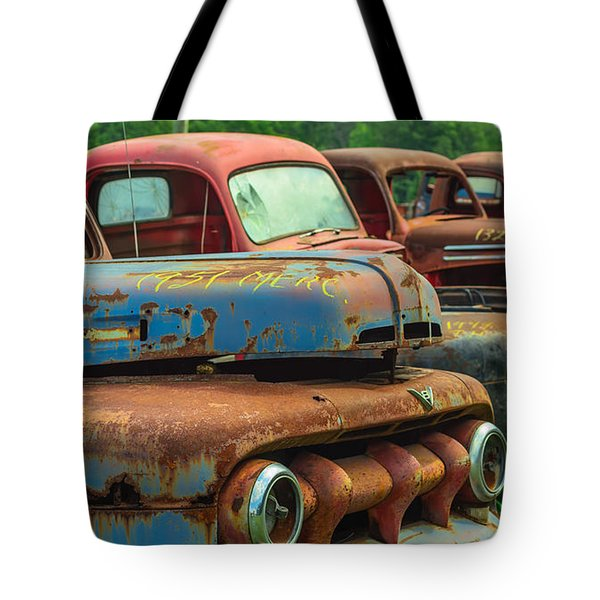 Vintage Trucks 2 Tote Bag