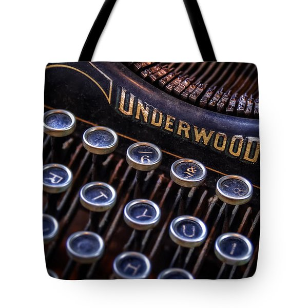 Vintage Typewriter 2 Tote Bag