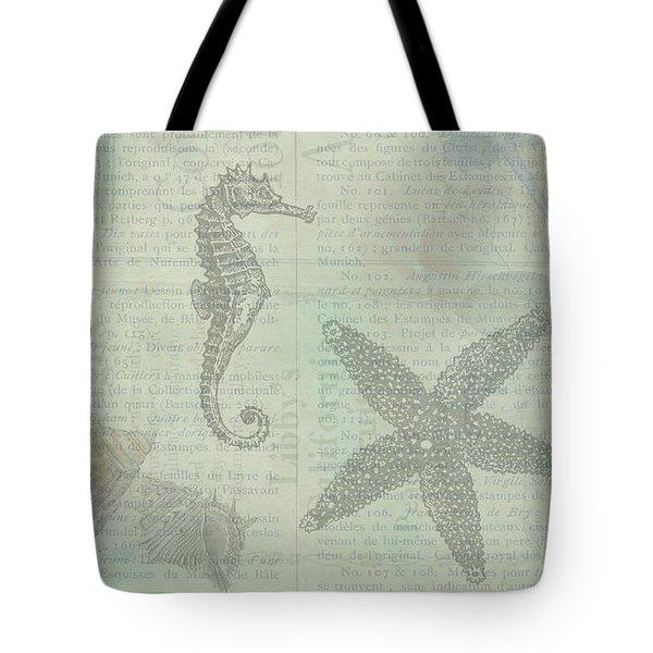 Vintage Under The Sea Tote Bag