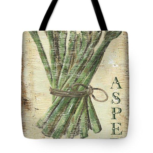 Vintage Vegetables 1 Tote Bag by Debbie DeWitt