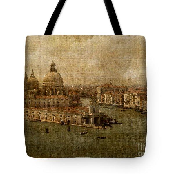 Vintage Venice Tote Bag by Lois Bryan