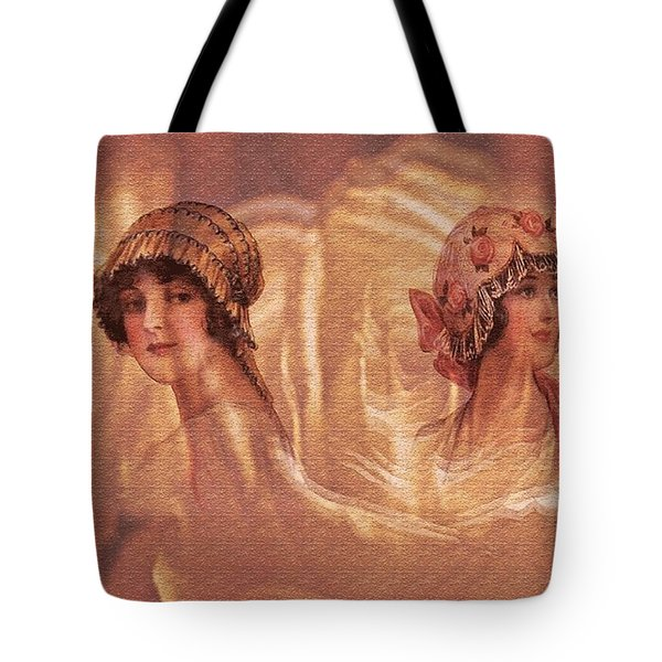 Vintage Victorian Rivals II Tote Bag