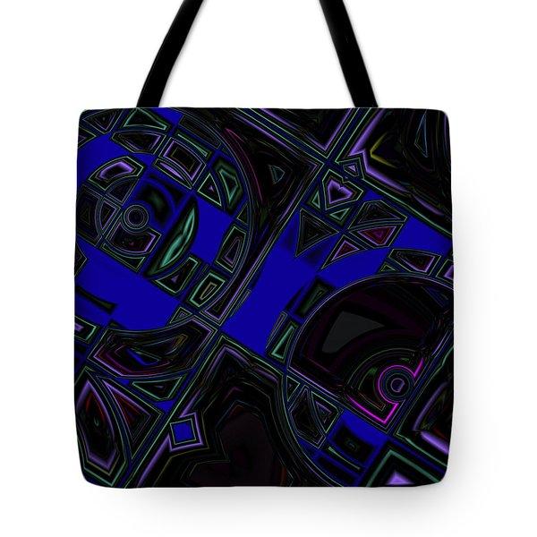 Vinyl Blues Tote Bag