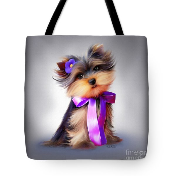 Violet  Tote Bag by Catia Cho