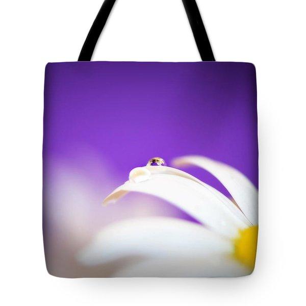 Violet Daisy Dreams Tote Bag by Lisa Knechtel