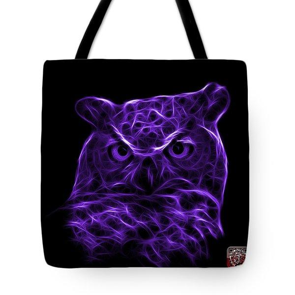 Violet Owl 4436 - F M Tote Bag by James Ahn