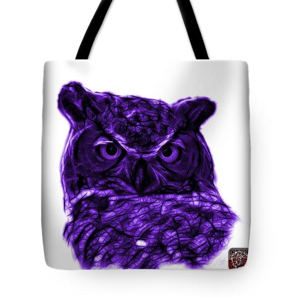 Violet Owl 4436 - F S M Tote Bag by James Ahn