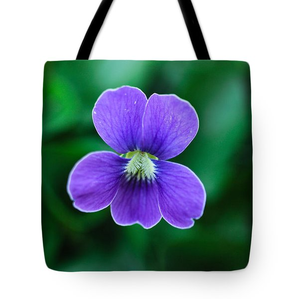 Violet Splendor Tote Bag