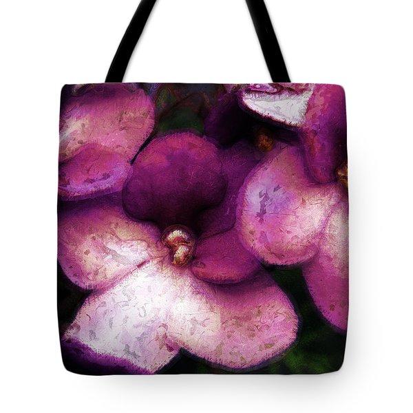 Violets No. 2 Tote Bag