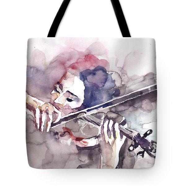 Violin Prelude Tote Bag by Faruk Koksal