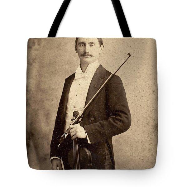 Violinist, C1900 Tote Bag