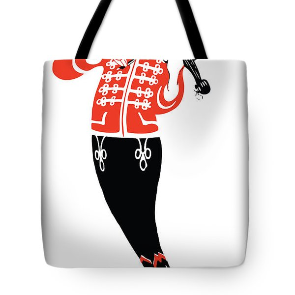 Violinist Tote Bag by Gary Grayson