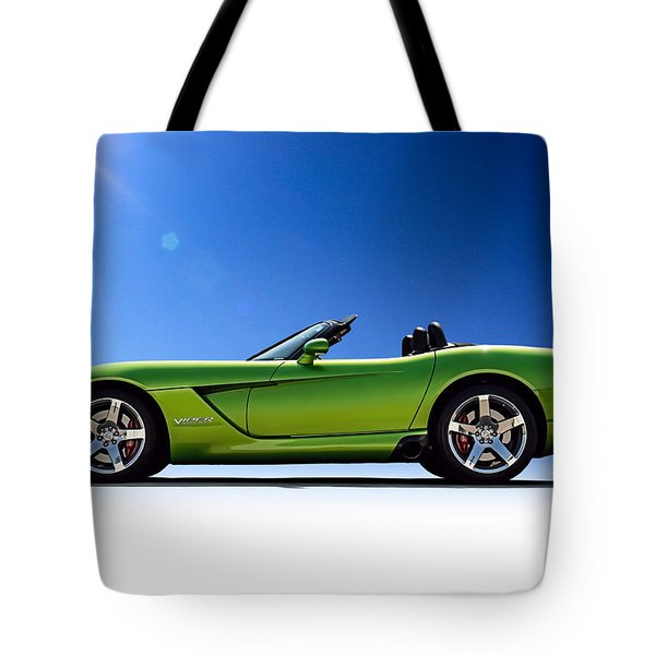Viper Roadster Tote Bag