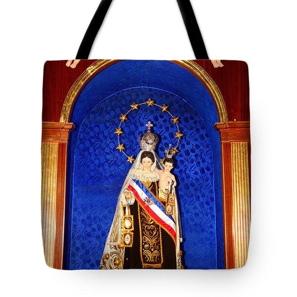 Virgen Del Carmen Chile Tote Bag