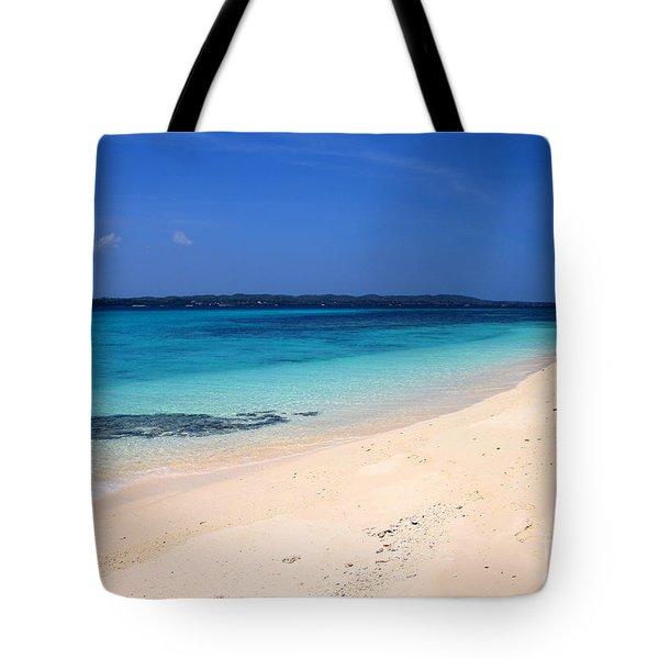 Tote Bag featuring the photograph Virgin Island Cebu by Joey Agbayani