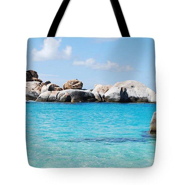 Virgin Islands The Baths Tote Bag