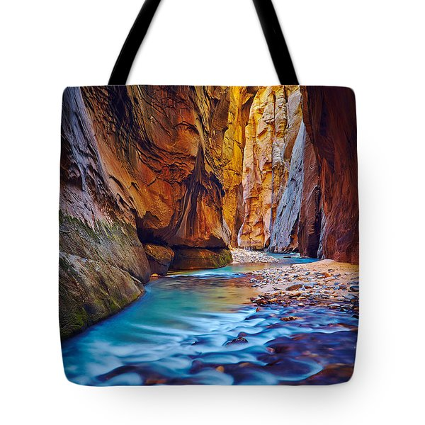 Virgin River In The Narrows Tote Bag