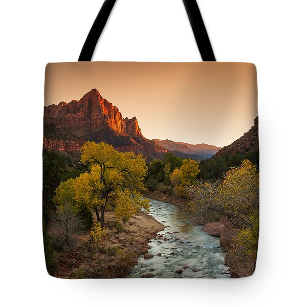 Virgin River Tote Bag by Tassanee Angiolillo