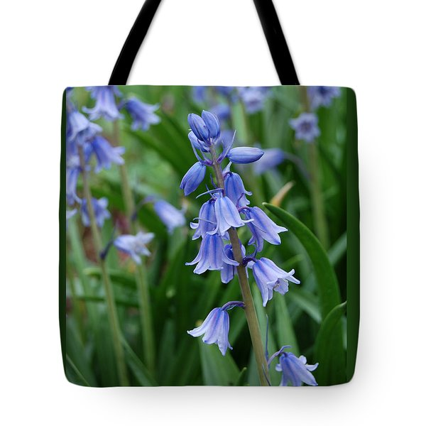 Tote Bag featuring the photograph Virginia Blue Bells  by Eva Kaufman