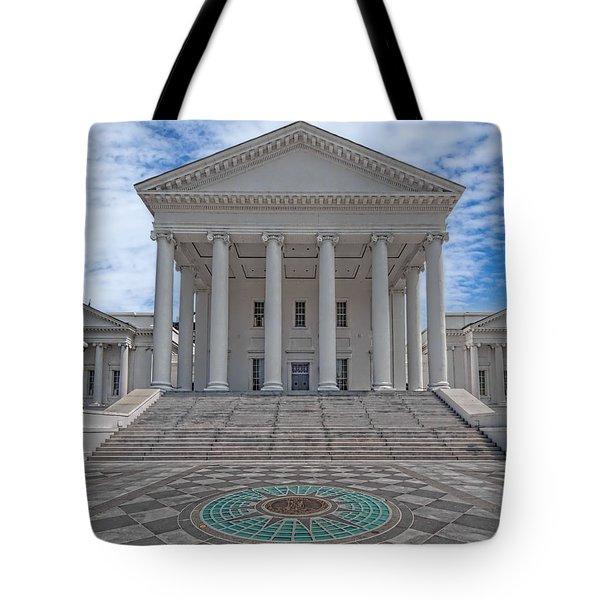 Virginia Capitol Tote Bag