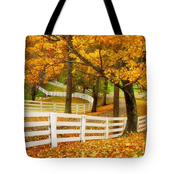 Virginia Horse Country Tote Bag
