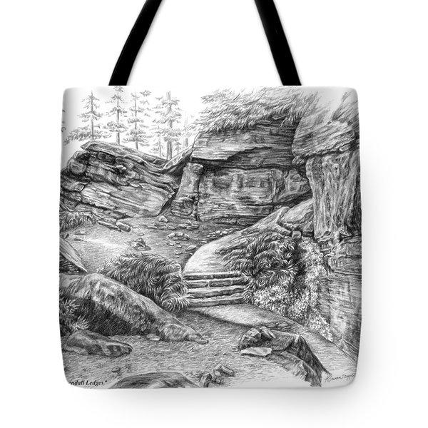 Virginia Kendall Ledges - Cuyahoga Valley National Park Tote Bag
