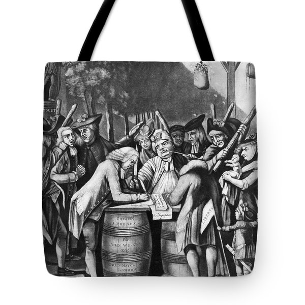 Virginia Loyalists, 1774 Tote Bag by Granger