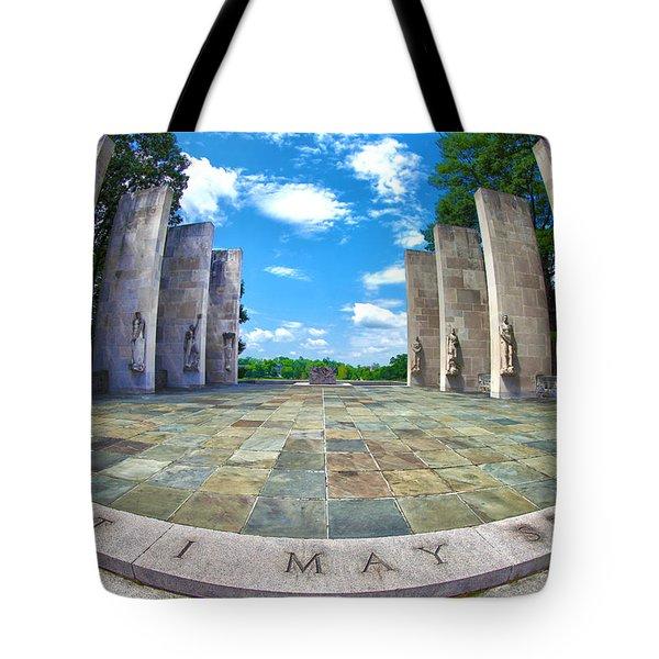 Virginia Tech War Memorial Tote Bag
