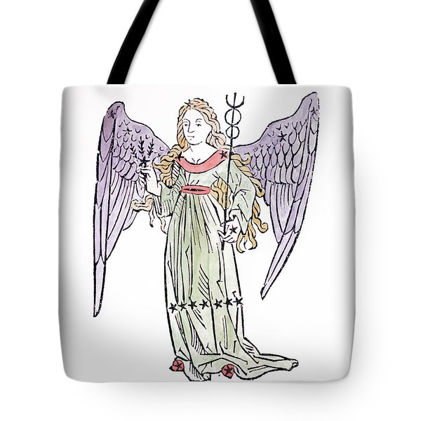 Virgo An Illustration From The Poeticon Tote Bag by Italian School