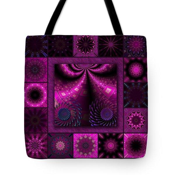 Virulent Lightwaves Redux  Tote Bag