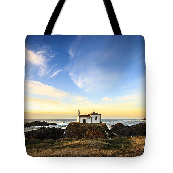 Tote Bag featuring the photograph Virxe Do Porto Meiras Galicia Spain by Pablo Avanzini