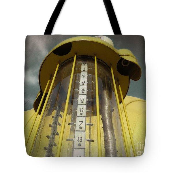 Visible Gas Pump Tote Bag