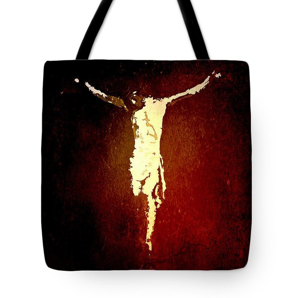 Vision Of Christ Tote Bag