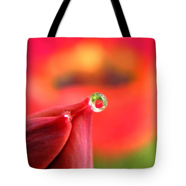 Vision Of Tomorrow  Tote Bag by Chris Berry