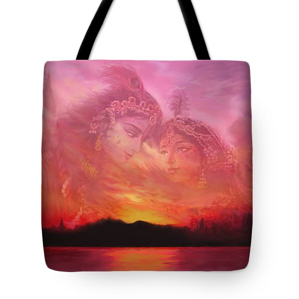 Vision Over The Yamuna Tote Bag