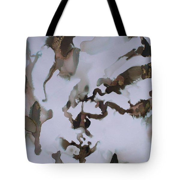 Tote Bag featuring the painting Vision Quest by Mary Sullivan