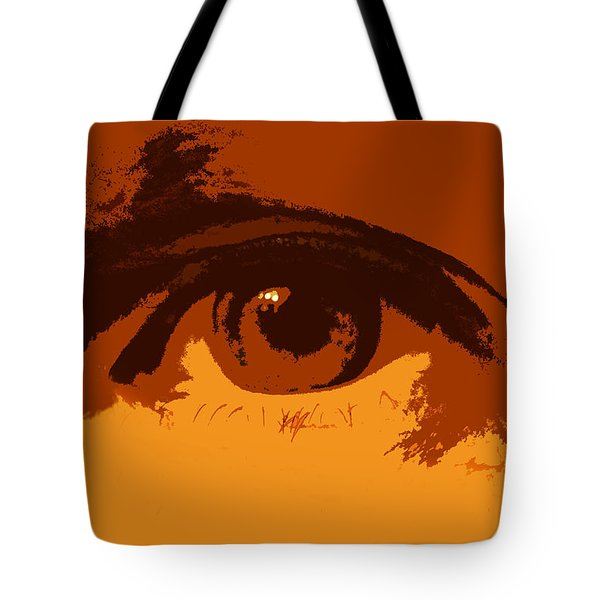 Vision Tote Bag by Skip Tribby